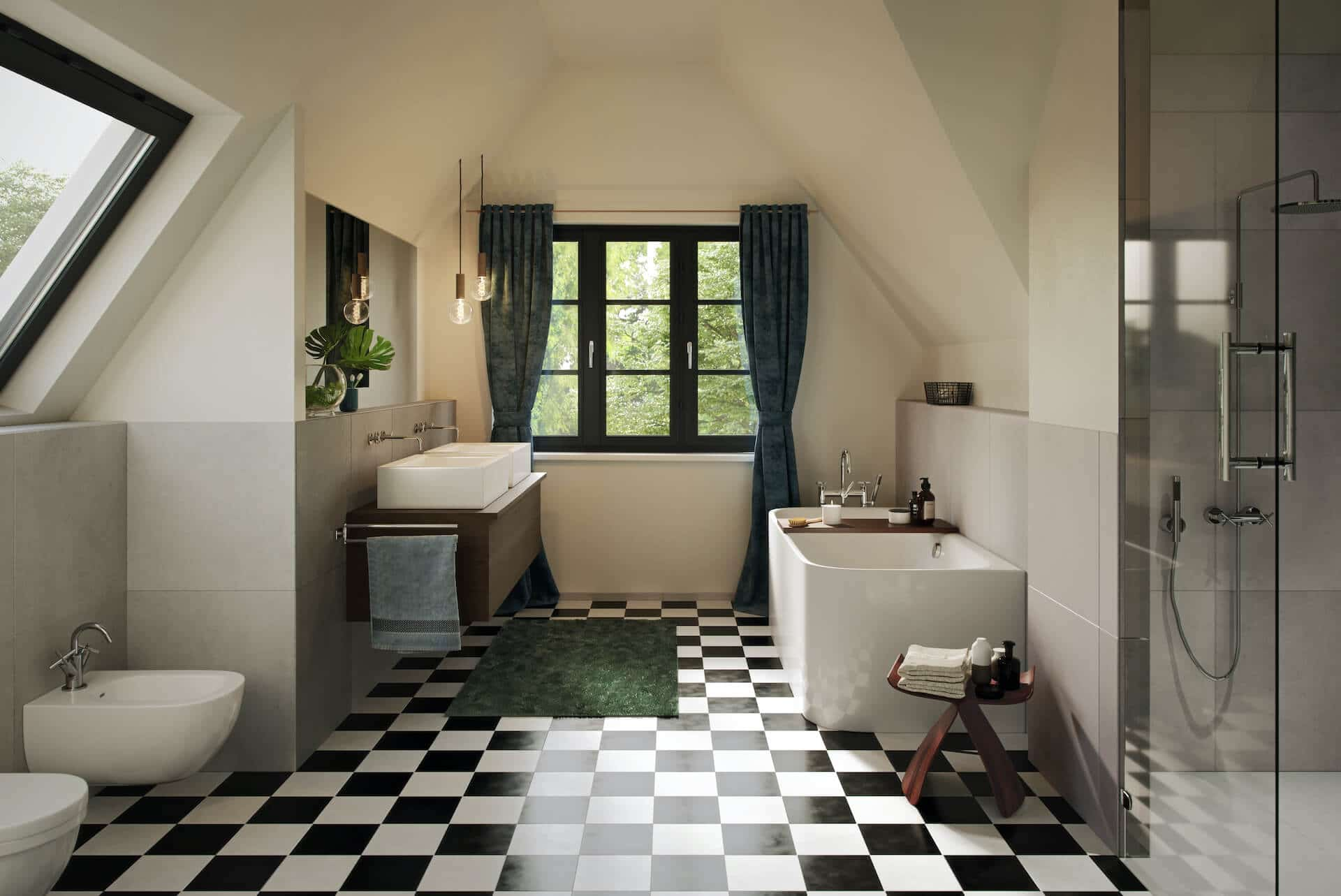 Davoser Strasse 5 Badezimmer